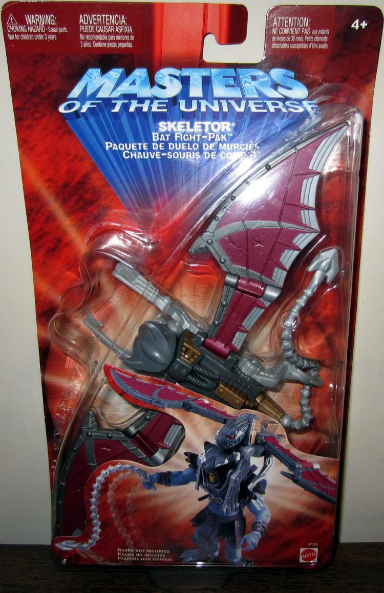 Skeletor Bat Fight-Pak Masters Universe Mattel