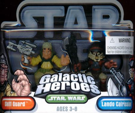 Skiff Guard Lando Calrissian Galactic Heroes action figures