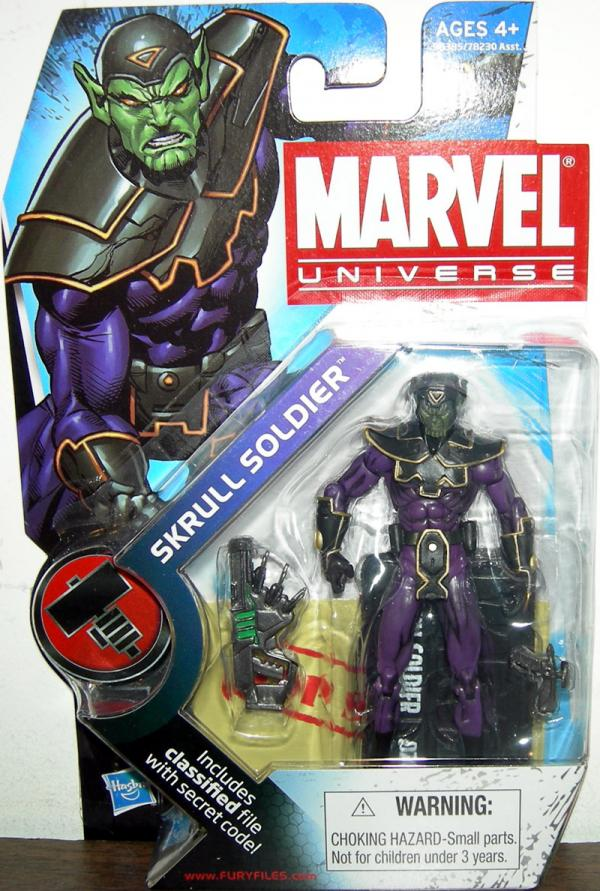 Skrull Soldier Marvel Universe, series 2, 024