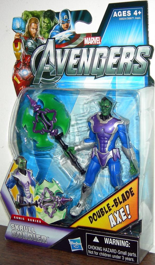 Skrull Soldier 15 Avengers