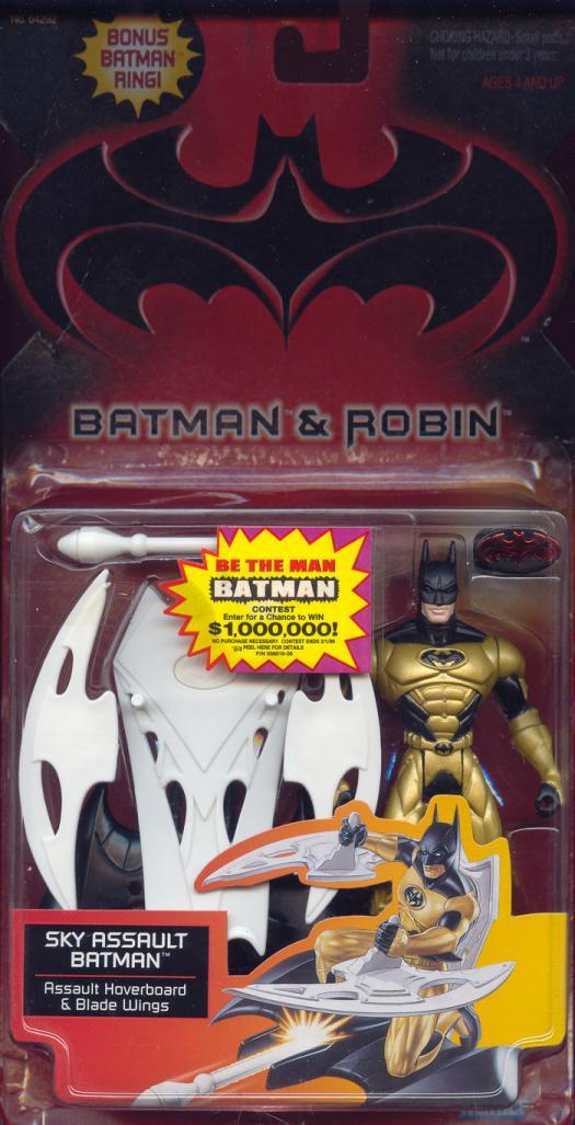 Sky Assault Batman Batman Robin, bonus Batman ring