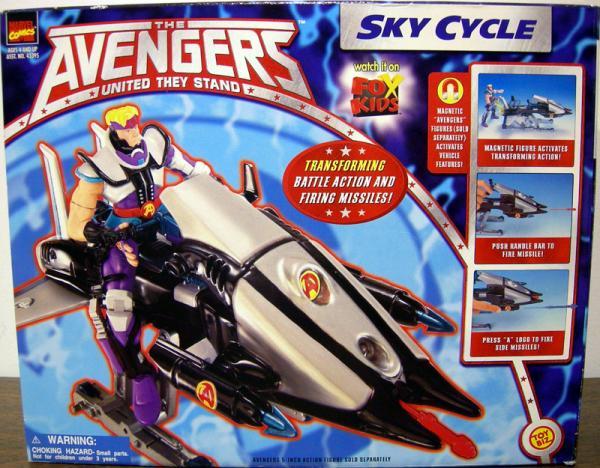 Sky Cycle Avengers Animated vehicle