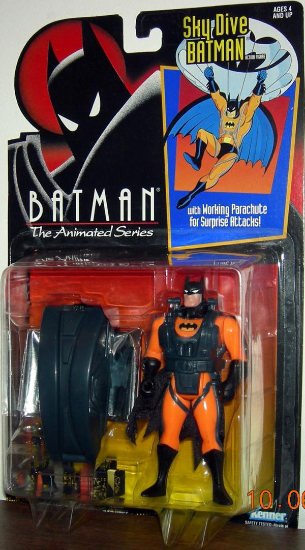 Sky Dive Batman Batman Animated Series action figure
