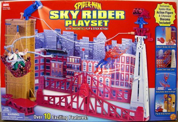 Sky Rider Playset Classic Spider-Man