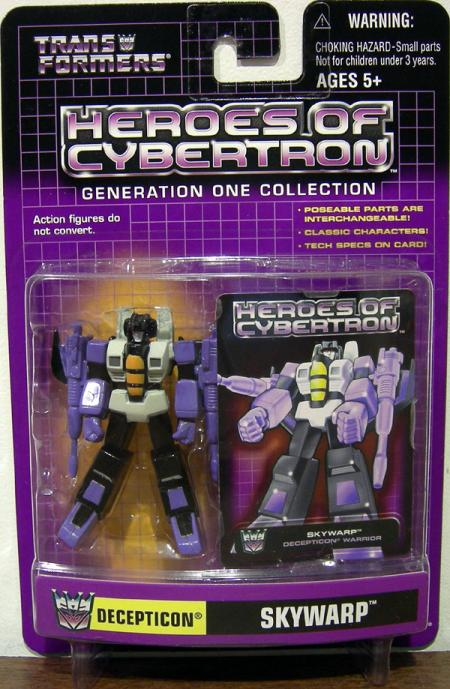 Skywarp Heroes Cybertron