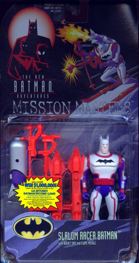 Slalom Racer Batman Mission Masters action figure