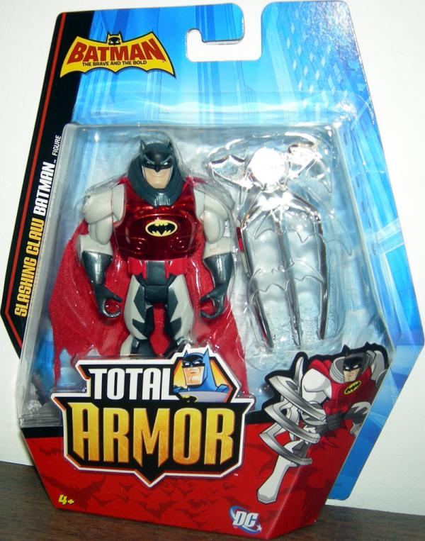 Slashing Claw Batman Total Armor