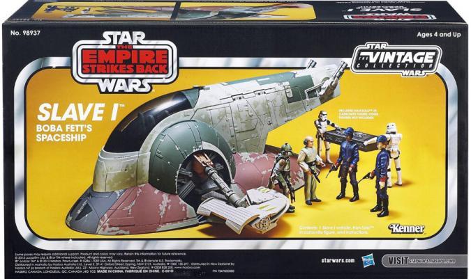 Slave I Boba Fetts Spaceship Vehicle Star Wars Empire Strikes Back