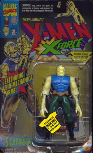 Slayback Figure X-Men X-Force Toy Biz