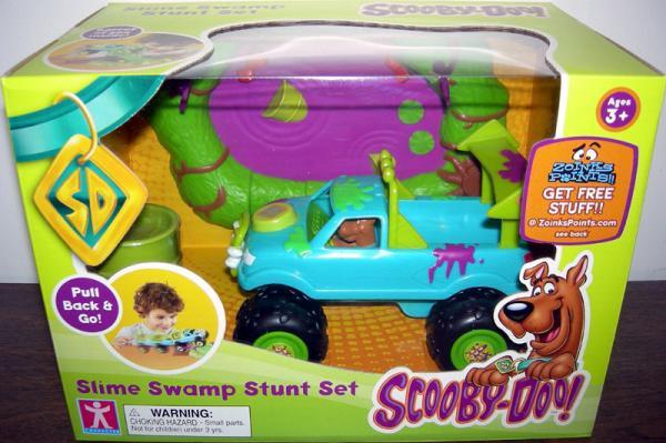 Scooby-Doo Slime Swamp Stunt Set