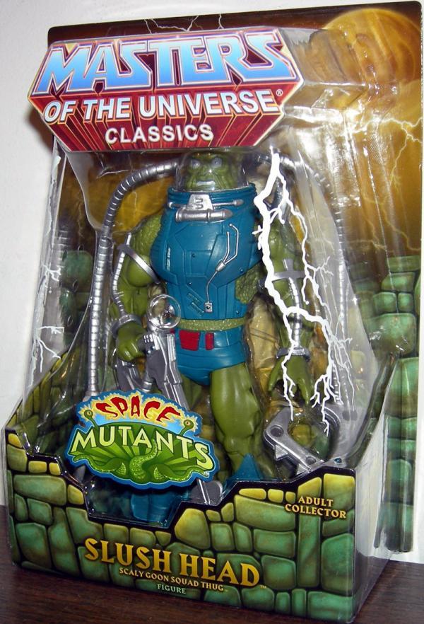 Slush Head Masters Universe Classics Space Mutants He-Man action figure