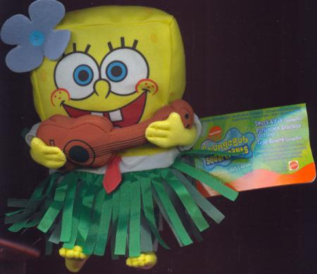 7 inch Smack Yak Spongebob, Hawaiian