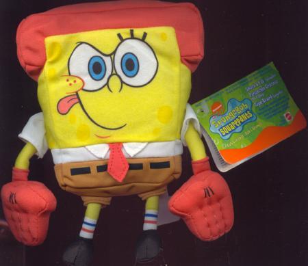 Smack Yak Spongebob Karate Plush 7 Inch