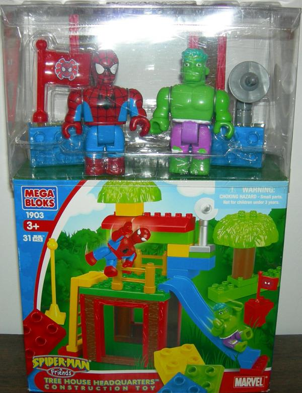 Tree House Headquarters Construction Toy Spider-Man Friends