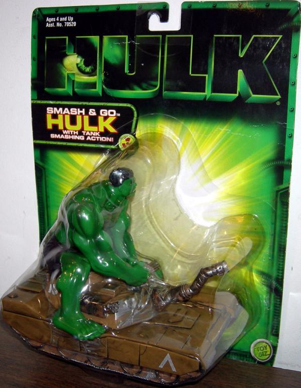 Smash Go Hulk Tank Vehicle Smashing Action