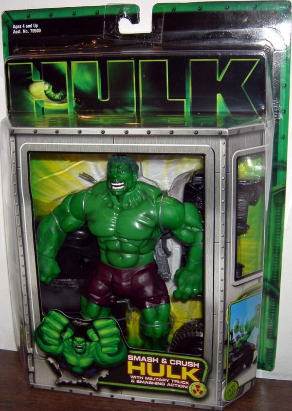 Smash Crush Hulk movie action figure