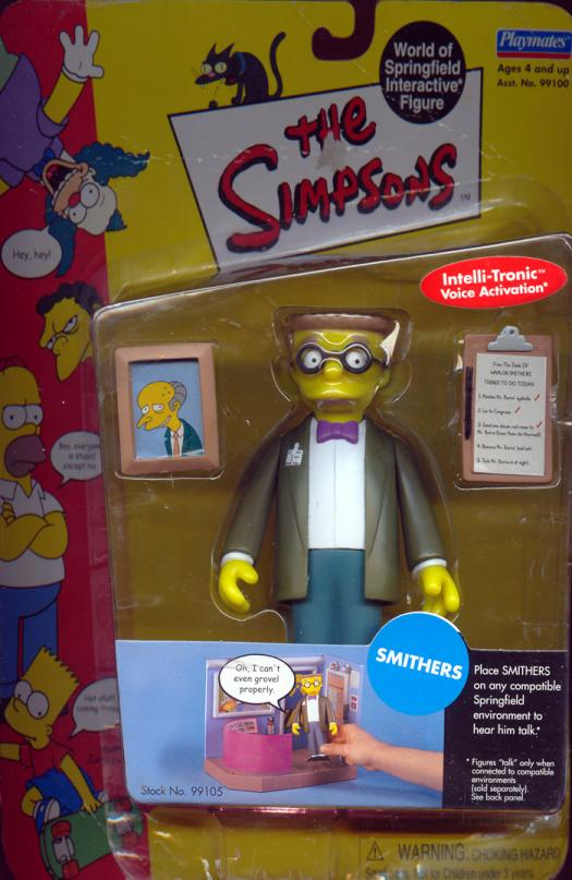 Smithers Simpsons action figure
