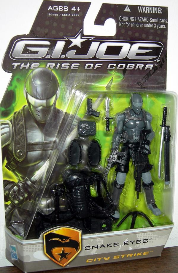 Snake Eyes City Strike action figure