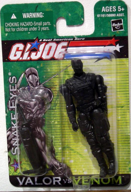 Snake Eyes Valor vs Venom GI Joe action figure
