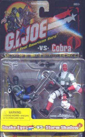 Snake Eyes vs Storm Shadow