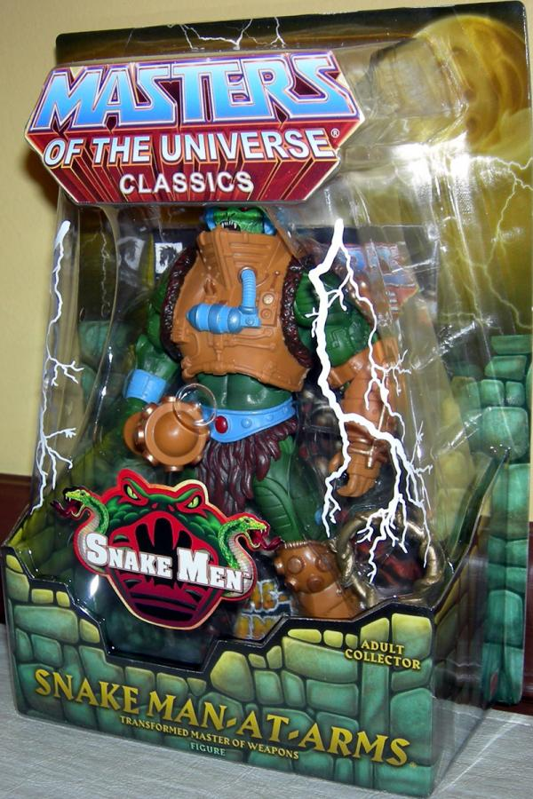 Snake Man-At-Arms Figure Classics Masters Universe Mattel