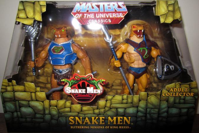 Snake Men Classics Figures Masters Universe Mattel