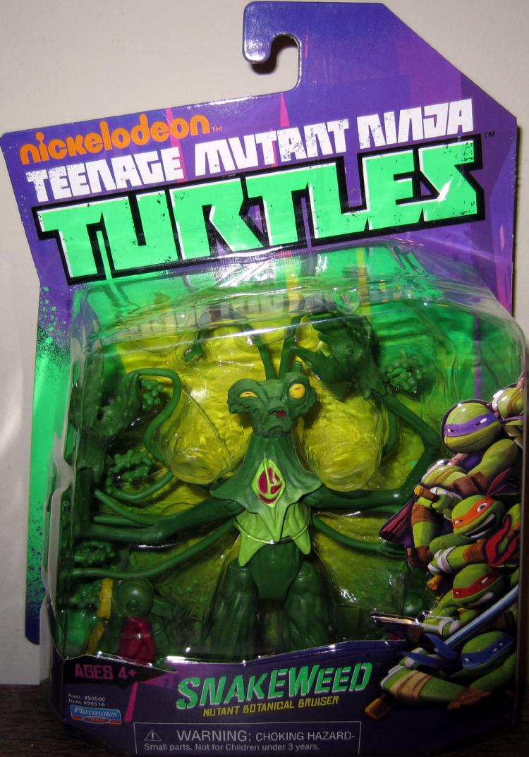 Snakeweed Action Figure Nickelodeon Teenage Mutant Ninja Turtles Playmates