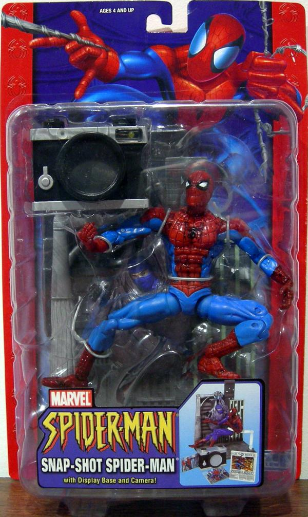 Snap-Shot Spider-Man Classic Action Figure Toy Biz