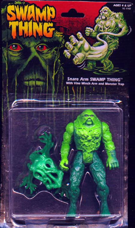 Snare Arm Swamp Thing action figure