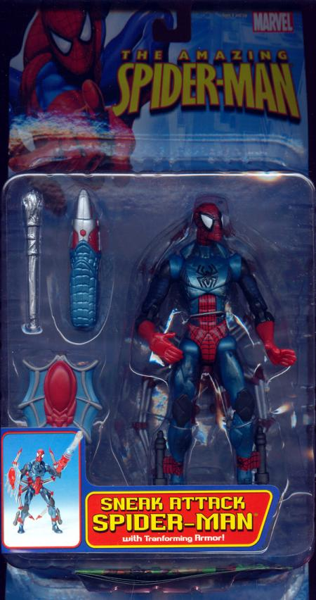 Sneak Attack Spider-Man Figure Amazing Toy Biz