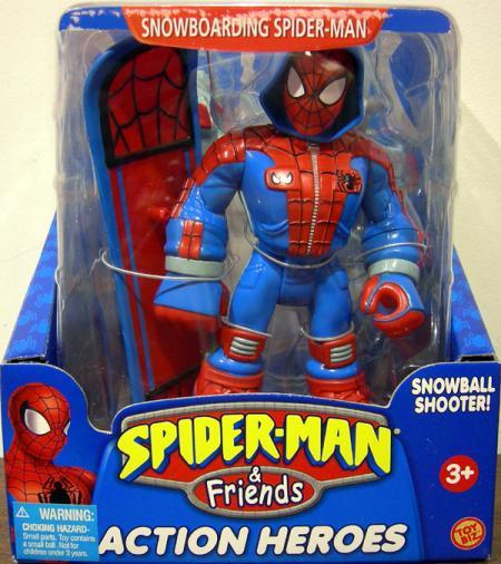 Snowboarding Spider-Man