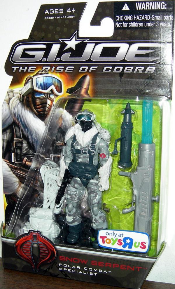 Snow Serpent Polar Combat Specialist action figure