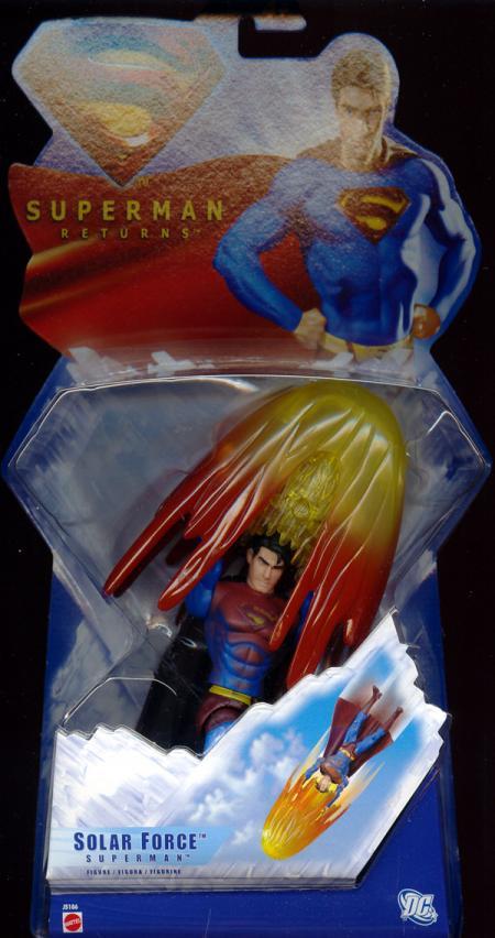 Solar Force Superman Figure Returns Mattel