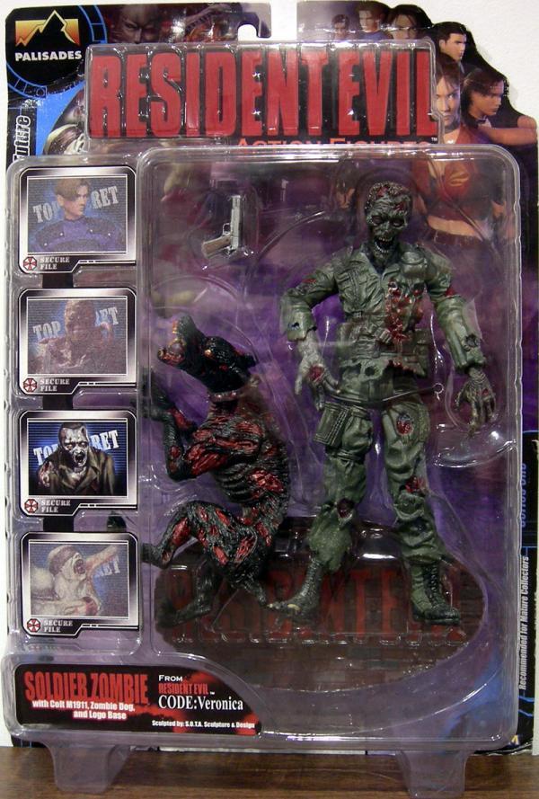 Soldier Zombie Zombie Dog