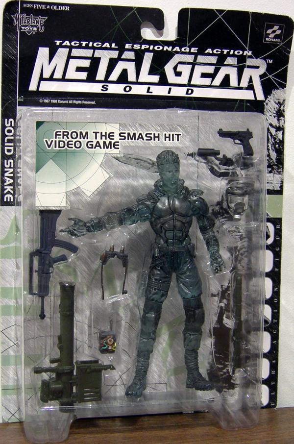 Solid Snake stealth