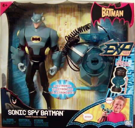 Sonic Spy Batman EXP