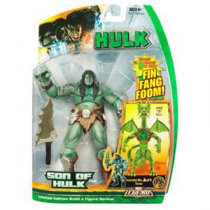 Son Hulk Marvel Legends Fin Fang Foom series