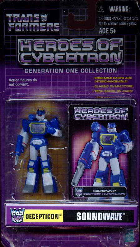 Soundwave Heroes Cybertron
