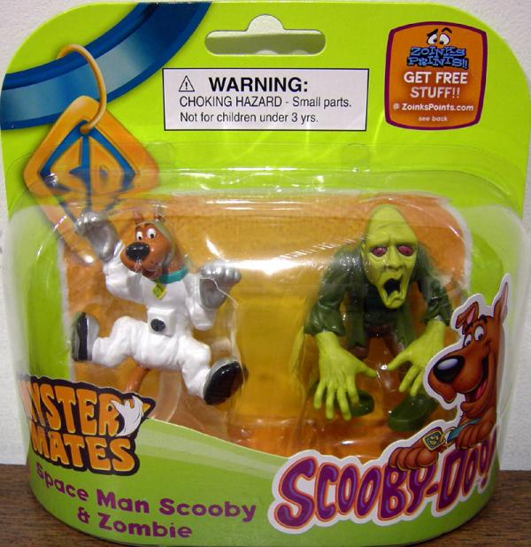 Space Man Scooby Zombie Mystery Mates