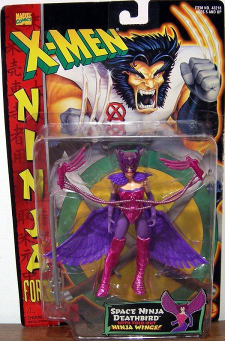 Space Ninja Deathbird Figure X-Men Ninja Force