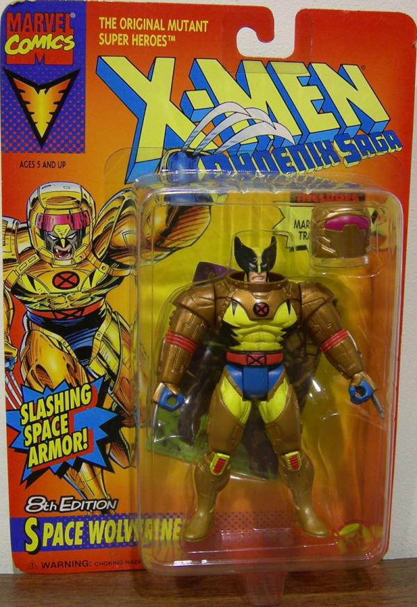 Space Wolverine 8th Edition X-Men action figure