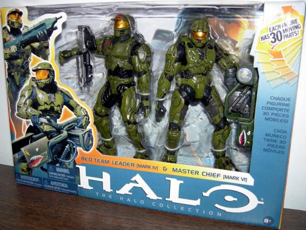 Red Team Leader Master Chief 2-Pack