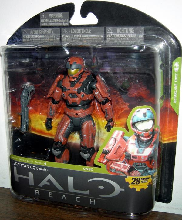 Spartan CQC Male Halo Reach Series 4 Toys R Us Exclusive action figure