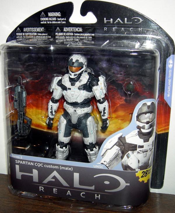 Spartan CQC custom male white, white
