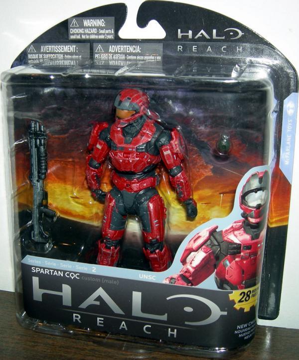 Spartan CQC custom male team red, team red