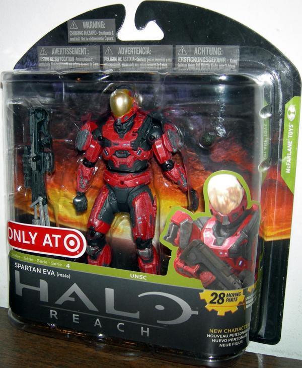 Spartan EVA Male UNSC Target Exclusive Halo Reach action figure