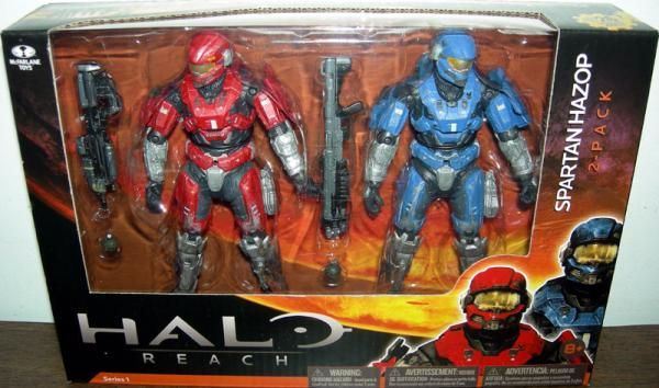 Spartan Hazop 2-Pack Halo Reach action figures