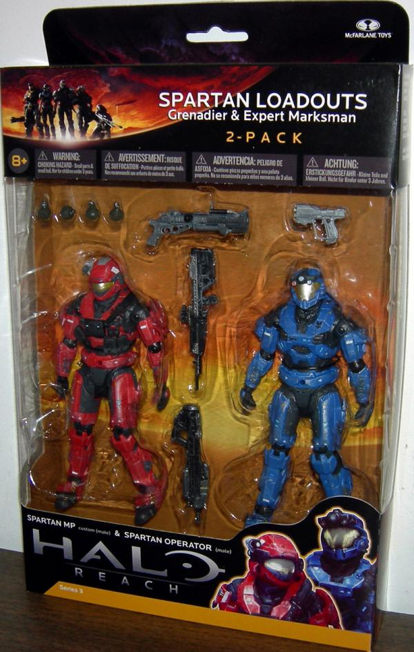 Spartan Loadouts Grenadier Expert Marksman 2-Pack