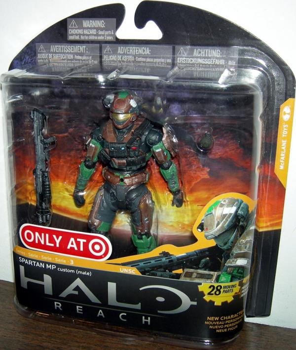 Spartan MP male, brown, forest, Target Exclusive