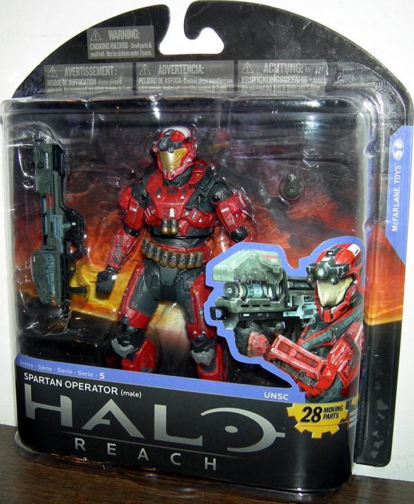 Spartan Operator Figure Male Series 5 Target Halo Reach